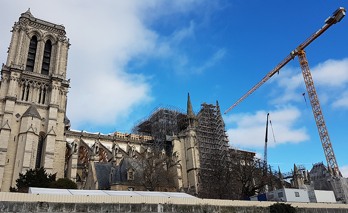 Notre-Dame en travaux