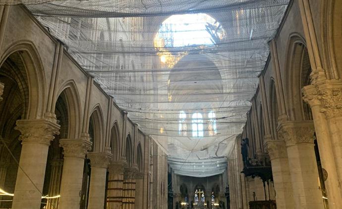 Intérieur de Notre-Dame