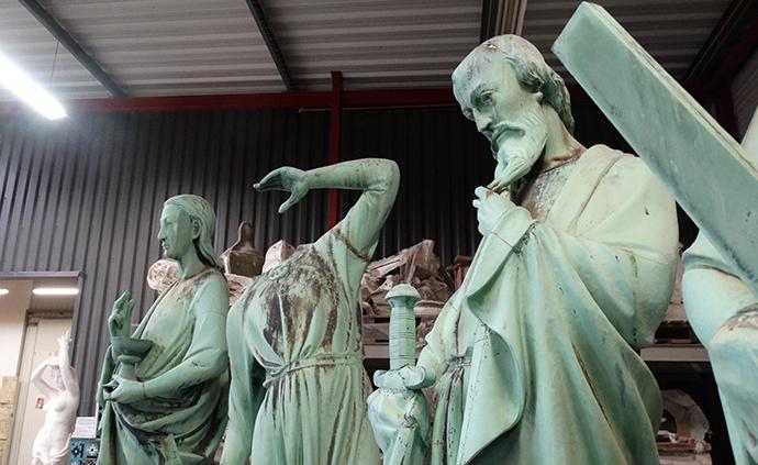 Statues de Notre‑Dame
