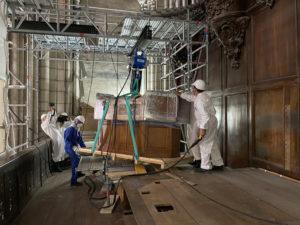 Restauration de l'orgue de Notre-Dame